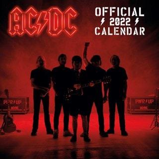 AC/DC: Square 2022 Calendar