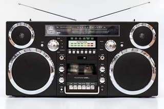 GPO Brooklyn Black Portable Boombox