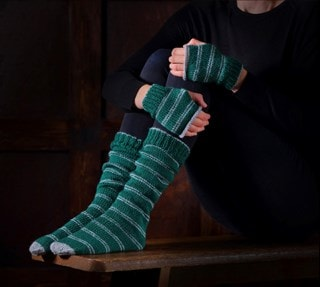 Slytherin Mittens & Slouch Socks: Harry Potter Knit Kit