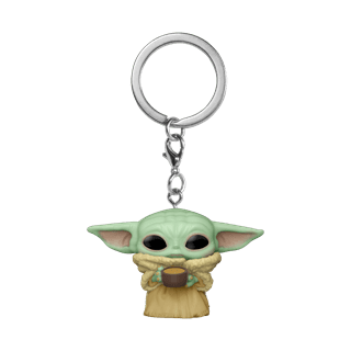 The Child With Cup: The Mandalorian: Star Wars Pop Vinyl Key Chain
