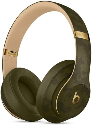 Beats By Dr Dre Studio 3 Wireless Forest Green Headphones