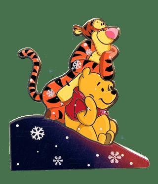 Winnie-the-Pooh: Snow Pals: Disney Limited Edition Artland Pin