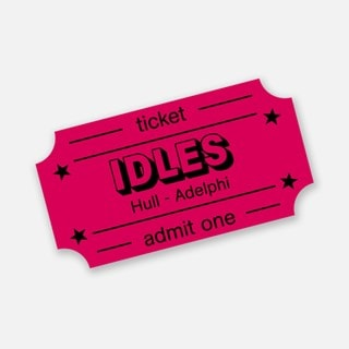 Idles - Ultra Mono - Hull Adelphi e-Ticket