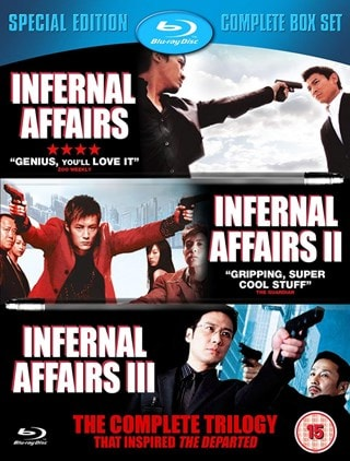 Infernal Affairs/Infernal Affairs 2/Infernal Affairs 3