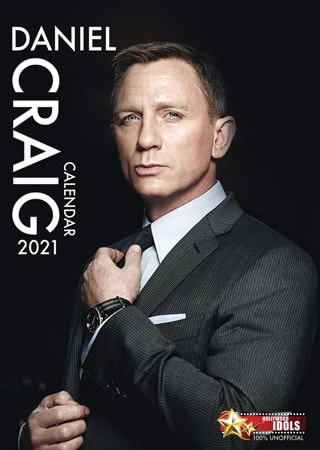 Daniel Craig: A3 2021 Calendar