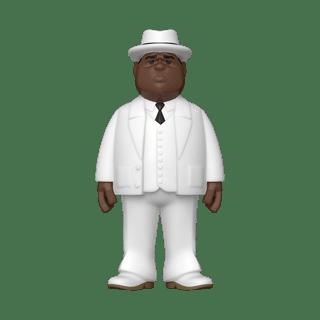 Biggie Smalls - White Suit: Funko Vinyl Gold 5''