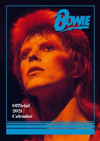 David Bowie: A3 2021 Calendar