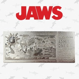 Jaws: Silver Plated Ticket Metal Replica (online only)