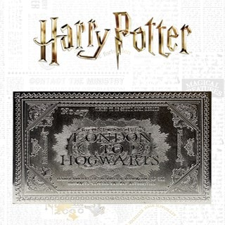 Harry Potter: Hogwarts Train Ticket Metal Replica (online only)