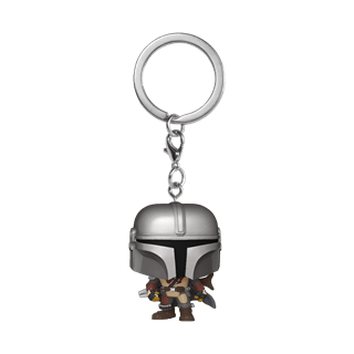 The Mandalorian: Star Wars Pop Vinyl Key Chain