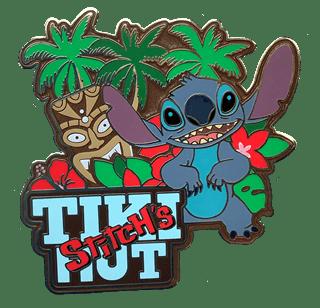 Stitch's Tiki Hut: Disney Limited Edition Artland Pin