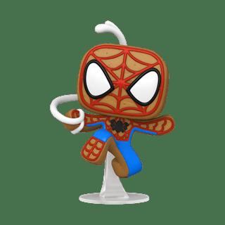 Gingerbread Spider-Man (939): Holiday: Marvel Pop Vinyl