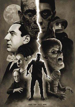 Universal Monsters: Moonlight Variant Art Print