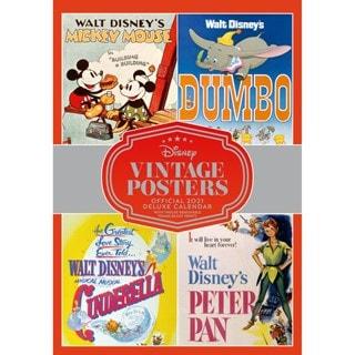 Disney Vintage: A3 Deluxe 2021 Calendar