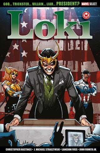 Marvel Comics: Vote Loki