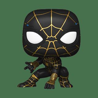 Spider-Man Black And Gold Suit (911): Spider-Man No Way Home Pop Vinyl