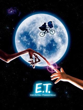 E.T. Canvas Print