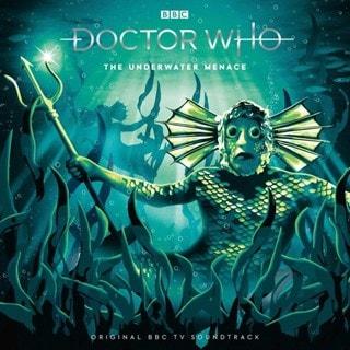 Doctor Who - The Underwater Menace - Volcanic Vinyl