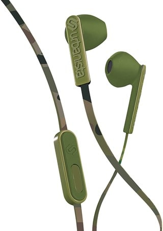 Urbanista San Francisco Green Camo Earphones