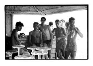 Spandau Ballet: At The Beach In St Tropez Print (20x70cm)