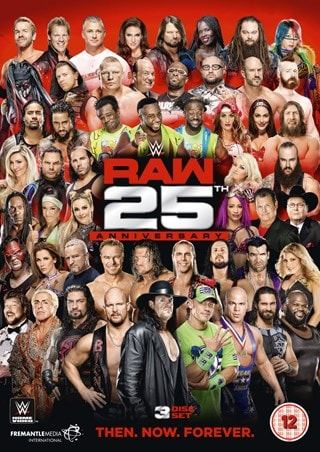 WWE: Raw - 25th Anniversary