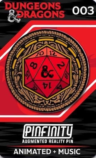 D20: Dungeons & Dragons Pinfinity Pin Badge