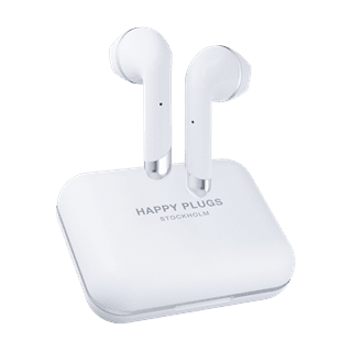 Happy Plugs Air1 Plus White Earbud True Wireless Bluetooth Earphones