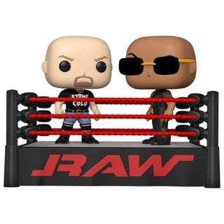 Rock vs Stone Cold In Wrestling Ring: WWE Pop Vinyl Moment