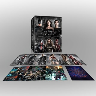 Zack Snyder's Justice League Trilogy Ultimate Collector's Edition