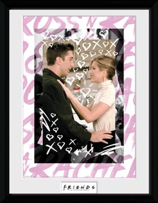 Friends: Ross And Rachel Framed Photographic Print