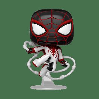 Track Suit (768): Spiderman Miles Morales: Gamer Verse Pop Vinyl