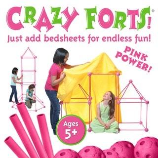 Crazy Forts Play Tent Pink Princess Playset