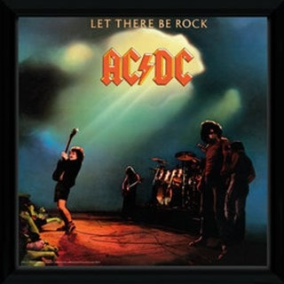 AC/DC Let There be Rock Framed Wall Art