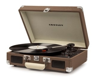 Crosley Cruiser Deluxe Tweed Turntable