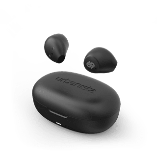 Urbanista Lisbon Midnight Black True Wireless Bluetooth Earphones