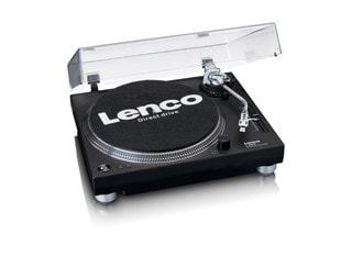 Lenco LS-3809 Black Direct Drive Turntable