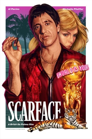 Scarface: Limited Edition Art Print