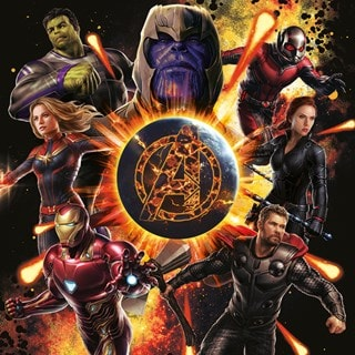 Avengers: Endgame Explosion Canvas Print