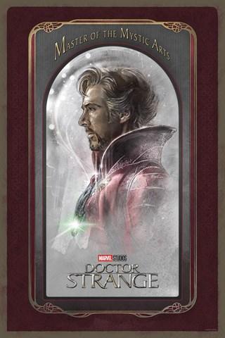 Doctor Strange Master Of The Mystic Arts Steve Anderson Marvel Art Print