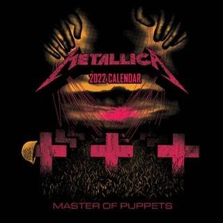 Metallica: Square 2022 Calendar