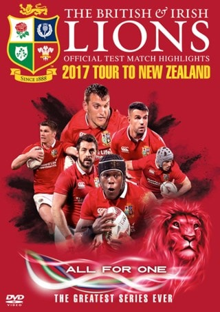 British and Irish Lions: Official Test Match Highlights - 2017...