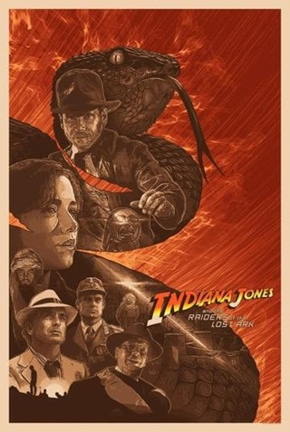 Indiana Jones: Why'd It Have To Be Snakes? Devin Schoeffler Limited Edition Lithograph Print