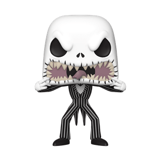 Jack Skellington: Scary Face (808) The Nightmare Before Christmas: Disney Pop Vinyl
