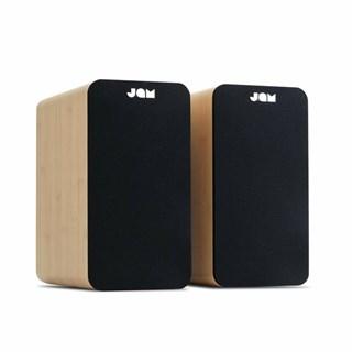 Jam Wood Bluetooth Bookshelf Speaker