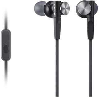 Sony XB50AP Black Extra Bass Earphones
