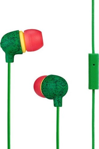 House Of Marley Little Bird Rasta Earphones W/Mic