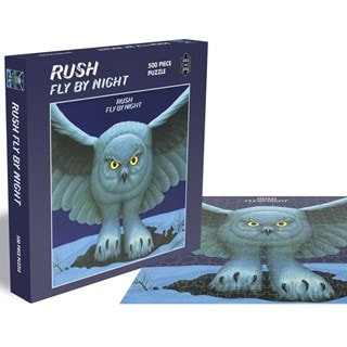 Rush - Fly By Night: 500 Piece Jigsaw Puzzle