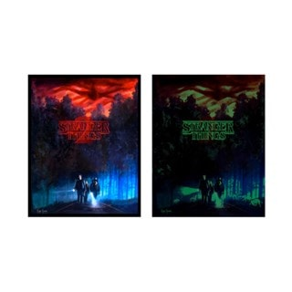 Stranger Things 2: They're Going Somewhere (Glow in the Dark) Limited Edition Art Print