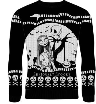 Seriously Spooky: The Nightmare Before Christmas Christmas Jumper