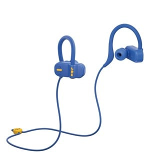 Jam Live Fast Blue Bluetooth Earphones